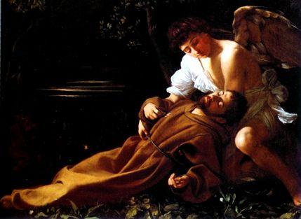 Caravaggio: Extase de São Francisco
