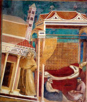 Giotto: Sonho do Papa Inocêncio III