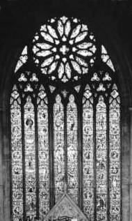 vitral na Catedral de Worcester